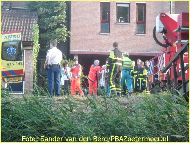 Lifeliner2 inzet Zoetermeer Foto: Sander van den Berg