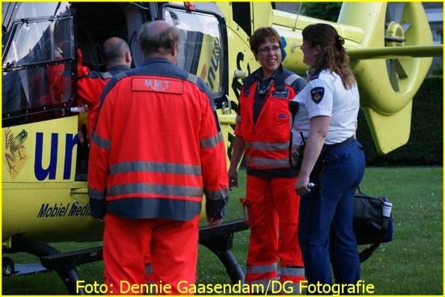Lifeliner4 inzet Oude Pekela Foto: Dennie Gaasendam (9)