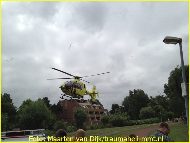 Lifeliner1 inzet Julianadorp Foto: Maarten van Dijk
