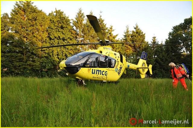 Lifeliner4 inzet Winschoten Foto: Marcel Lameijer