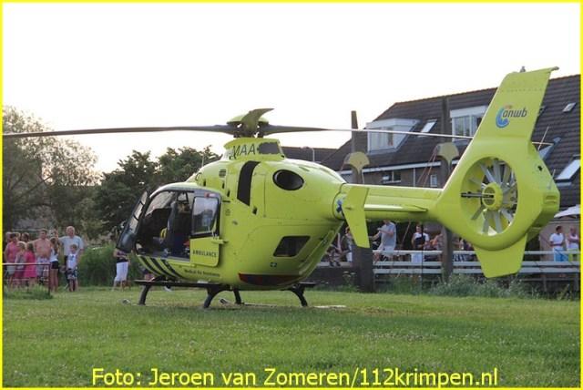 Lifeliner2 inzet Capelle aan den Ijssel Foto: Jeroen van Zomeren