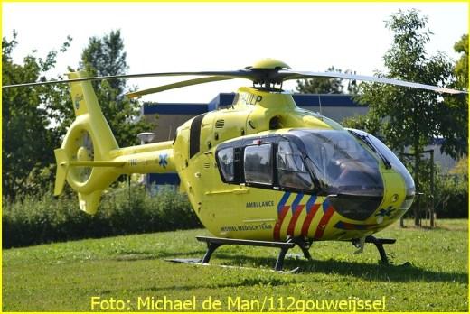 Lifeliner2 inzet Rotterdam Foto: Michael de Man