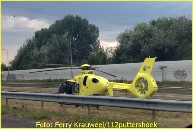 Lifeliner2 inzet Rotterdam Foto: Ferry Krauweel