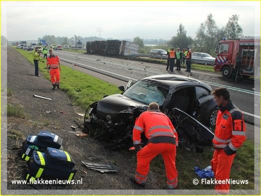 Lifeliner2 inzet Oude-Tonge Foto: flakkeenieuws.nl