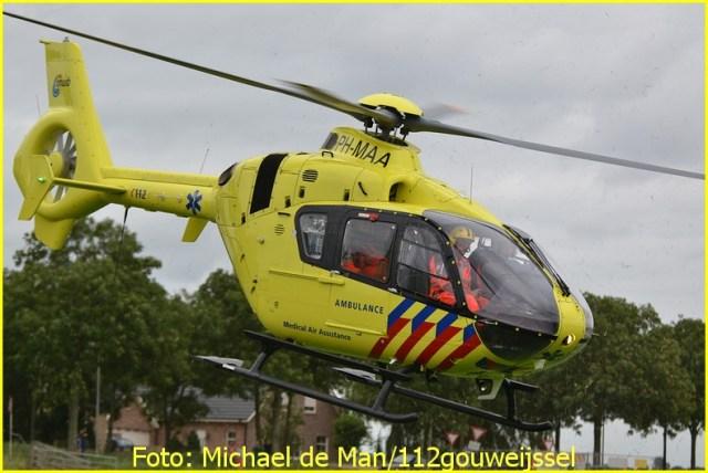 Lifeliner2 inzet Moordrecht Foto: Michael de Man