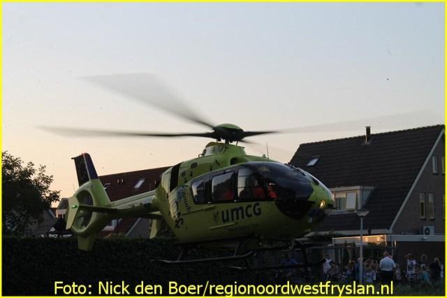 Lifeliner4 inzet Franeker Foto: Nick den Boer