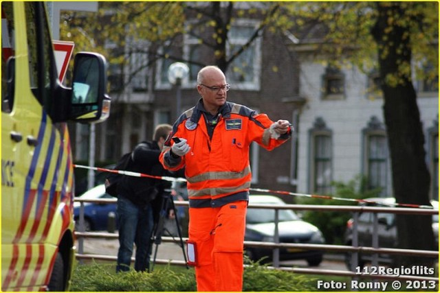 031_Bromfietsbestuurder ernstig gewond Buinerweg 18-10-13-BorderMaker