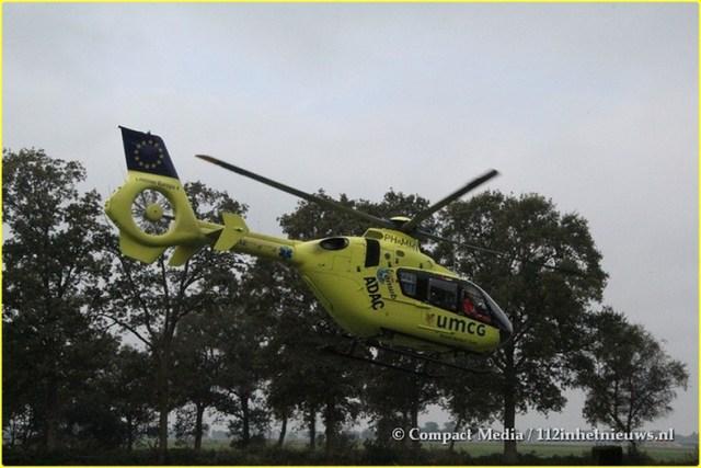 Eenzijdig verkeersongeval Blesdijke 7-BorderMaker
