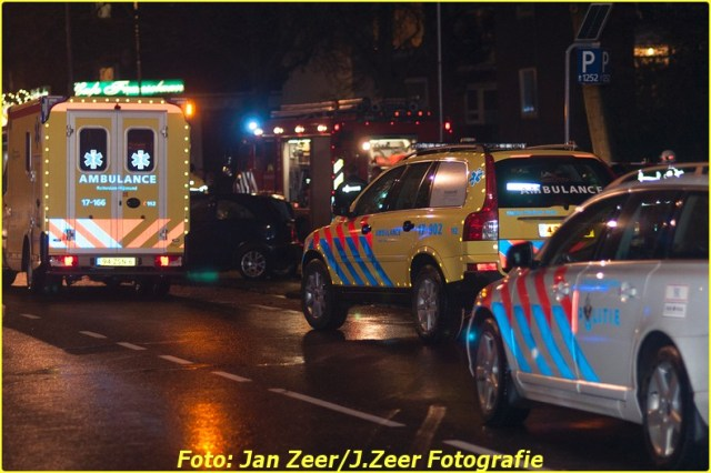 2013-11-29 eenzijdig ongeval Franselaan, Rotterdam 017-BorderMaker