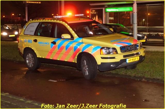 2013-12-07 Aanrijding met letsel Schiedamsedijk, Rotterdam 006-BorderMaker