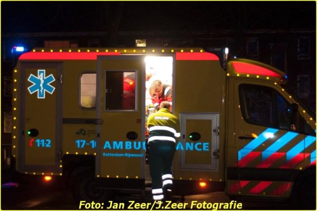 2013-12-07 Aanrijding met letsel Schiedamsedijk, Rotterdam 011-BorderMaker