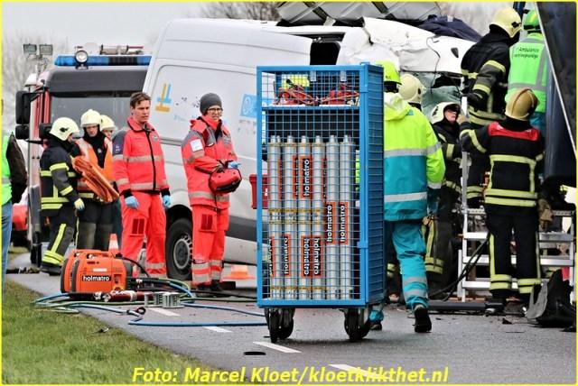 ongeval s'-heerenhoeksedijk overzande 13-2-2013 112-BorderMaker