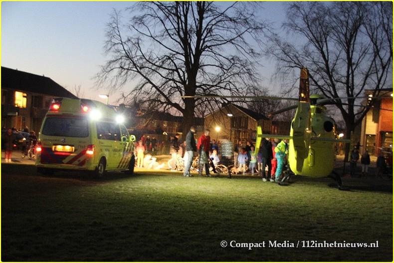112 Slachtoffertje gaat met het MMT mee Oosterwolde 5-BorderMaker