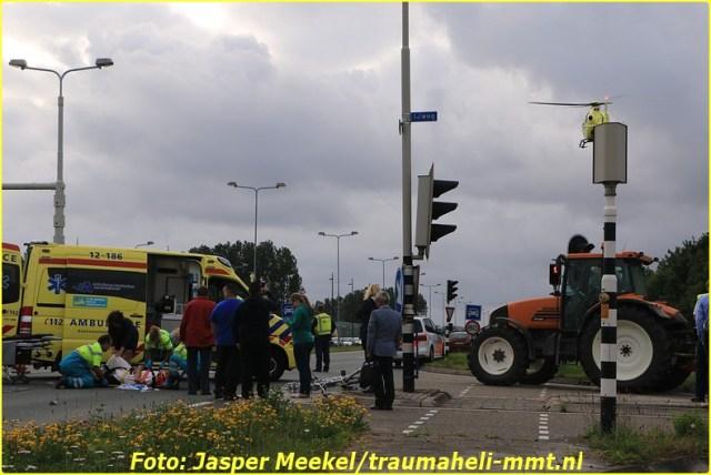 2014 0619 Traumaheli Inzet Ijweg te Hoofddorp 010 (3)-BorderMaker