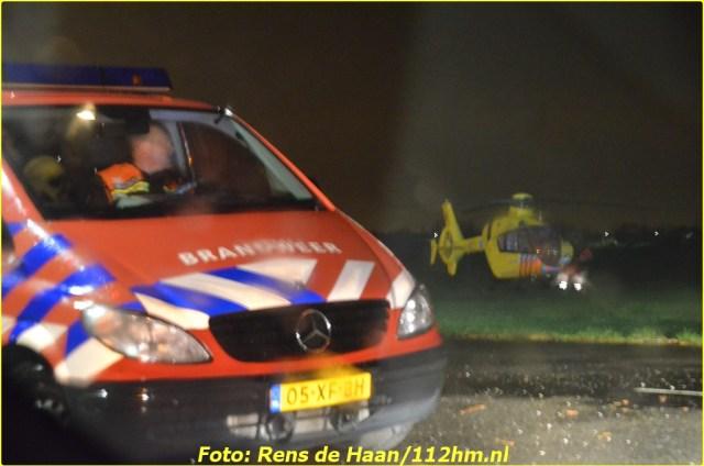 2015 01 13 Man gered van verdrinkingsdood Haastrecht_Rens de Haan (10)-BorderMaker
