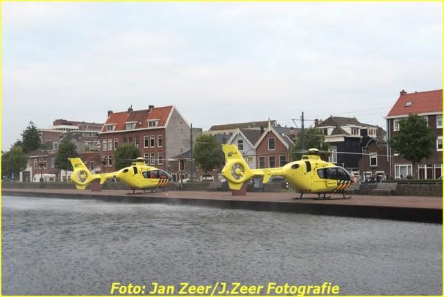 2015-10-19 Dubbele traumahelikopter inzet Schiedam 010-BorderMaker