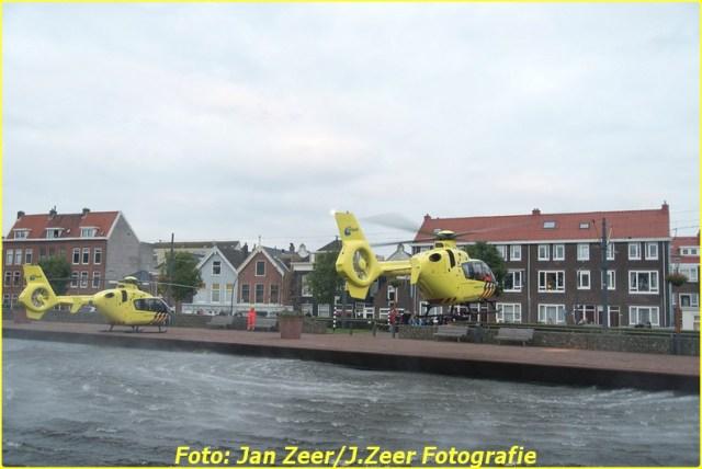 2015-10-19 Dubbele traumahelikopter inzet Schiedam 025-BorderMaker