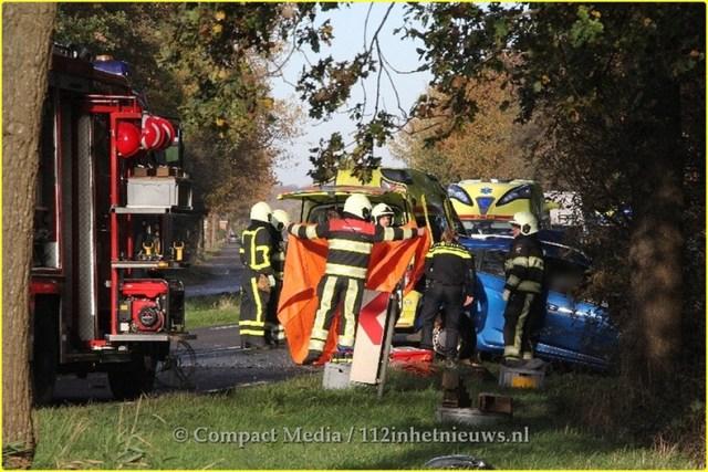 Dodelijk ongeval N381 Oosterwolde 13-BorderMaker