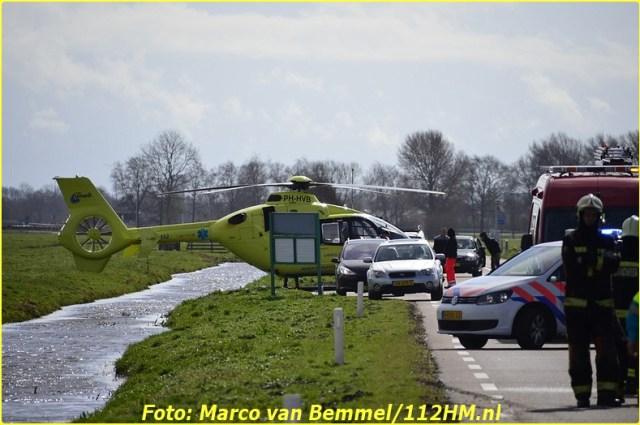 Ongeval Zijdeweg N475 Ouderkerk ad IJssel (2)-BorderMaker