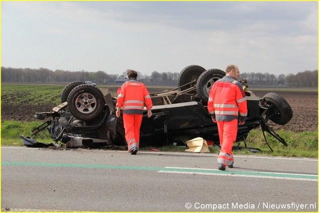 Ongeval N34 Odoorn 034 Nieuwsflyer-BorderMaker