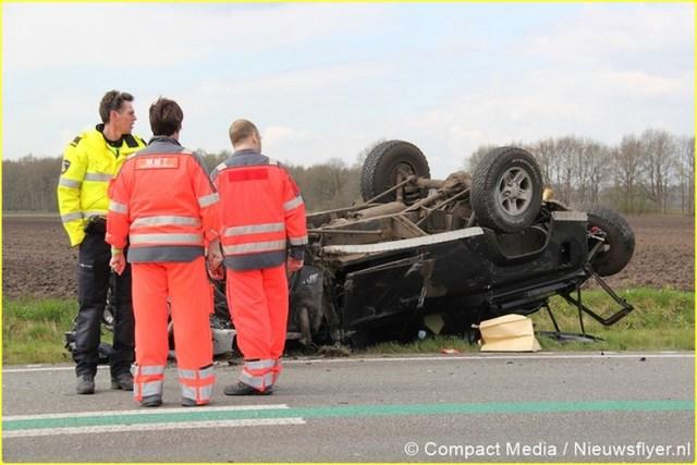 Ongeval N34 Odoorn 050 Nieuwsflyer-BorderMaker