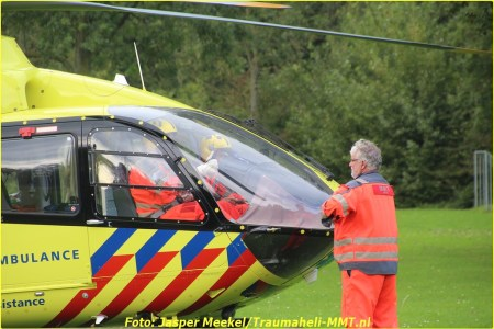 20 September Lifeliner1 Hoofddorp Bosweg