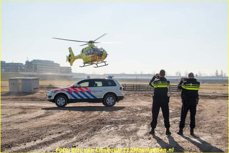 22 Februari Lifeliner1 Rozenburg (NH) Aalsmeerderweg