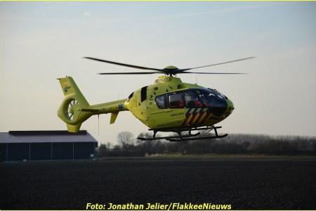 14 Maart Lifeliner2 Dirksland Oudelandsedijk