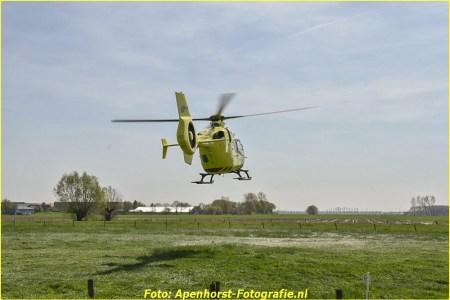18 April Lifeliner3 Heteren Lange Akkers
