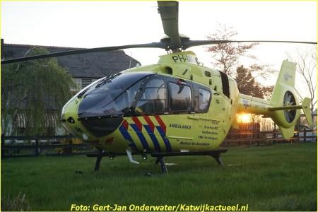 20 April Lifeliner1 Rijnsburg Voorhouterweg