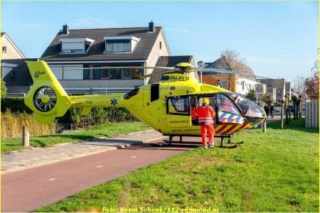 15 November Lifeliner2 Barendrecht Sweelincklaan