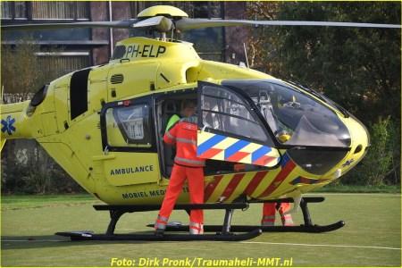 14 November Lifeliner2 Voorburg Bilderdijkplein