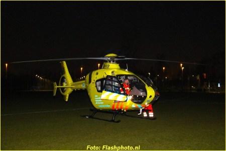 15 April Lifeliner2 Schiedam A R Falckstraat