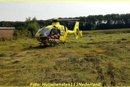 Hulpdiensten naar camping in Tienhoven voor...