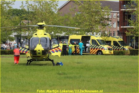 Lifeliner2 naar Zierikzee voor incident binnenshuis