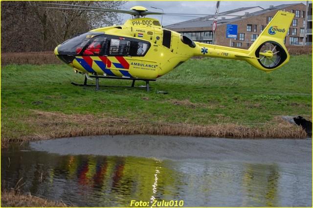 Lifeliner2 PH-DOC BKR Berkel en Rodenrijs Ranonkelweg 24-01-2021-7183-BorderMaker