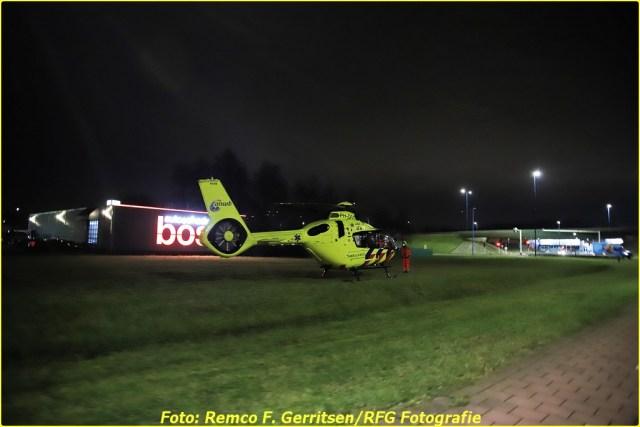 21-02-19 Prio 1 Steekpartij - Vijverdreef (Zoetermeer) - Lifeliner (1)-BorderMaker