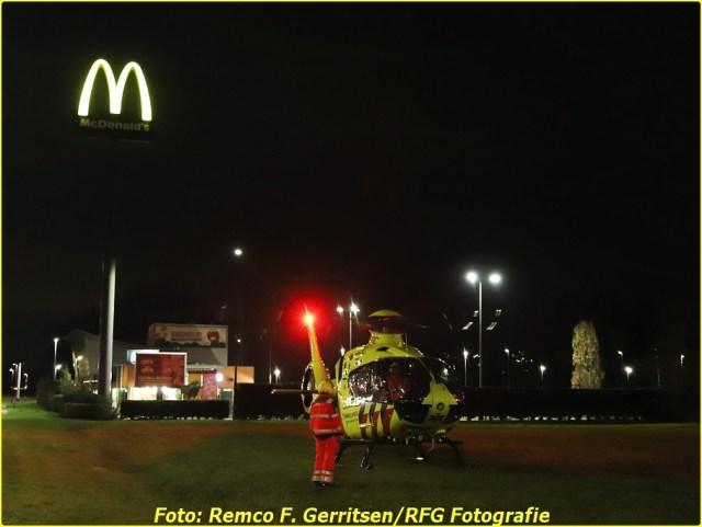 21-02-19 Prio 1 Steekpartij - Vijverdreef (Zoetermeer) - Lifeliner (2)-BorderMaker