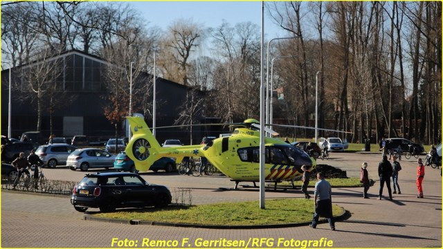 21-02-28 Prio 1 Verkeersongeval - Lekdijk-West (Schoonhoven) (4)-BorderMaker