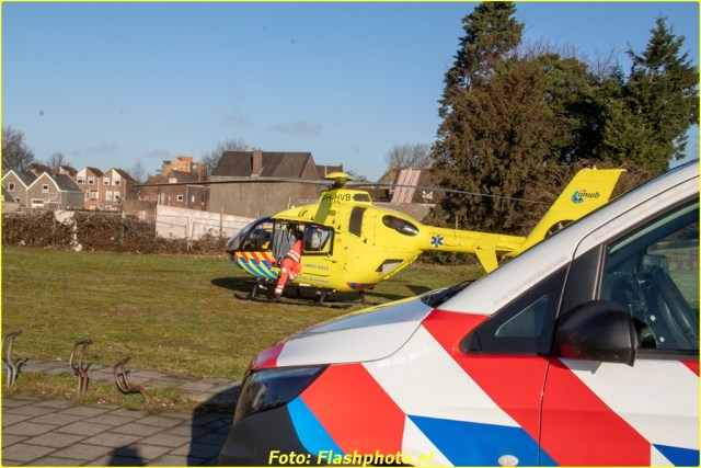 Traumahelikopter Vlaardingen (4)-BorderMaker