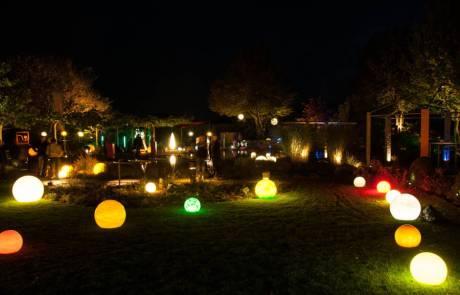 Feier 85 Jahre Garten- und Landschaftsbau Mähler mit einer Nacht des Lichtes