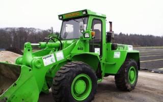 Radlader-Hanomag 12 Tonnen Einsatzgewicht