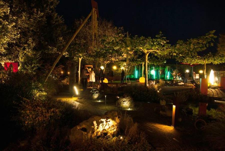 Gartenbeleuchtung Schaugarten Kleve