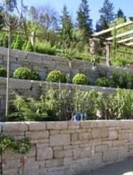 Gartenmauer