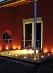 LED Lichtpunkte Terrasse