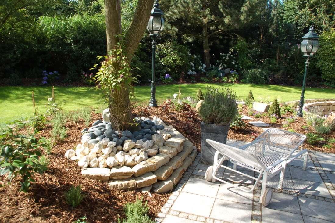 Romantische Garten Gestalten: Pool