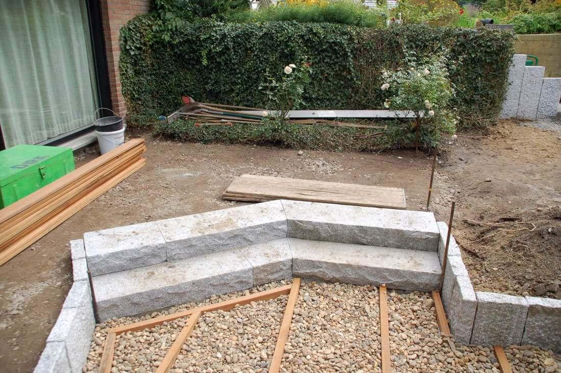 terrasse granit holz. Black Bedroom Furniture Sets. Home Design Ideas
