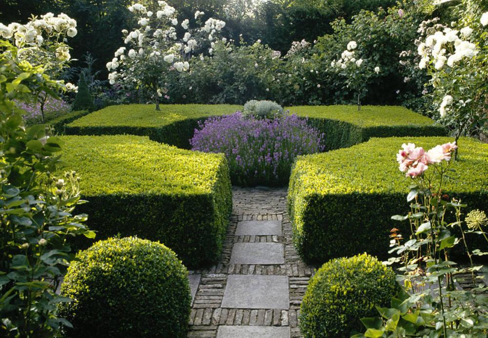 Formen im Garten