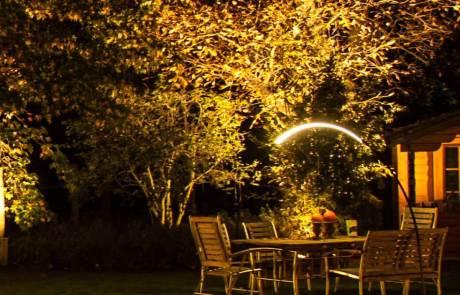 Gartenbeleuchtung mit LED