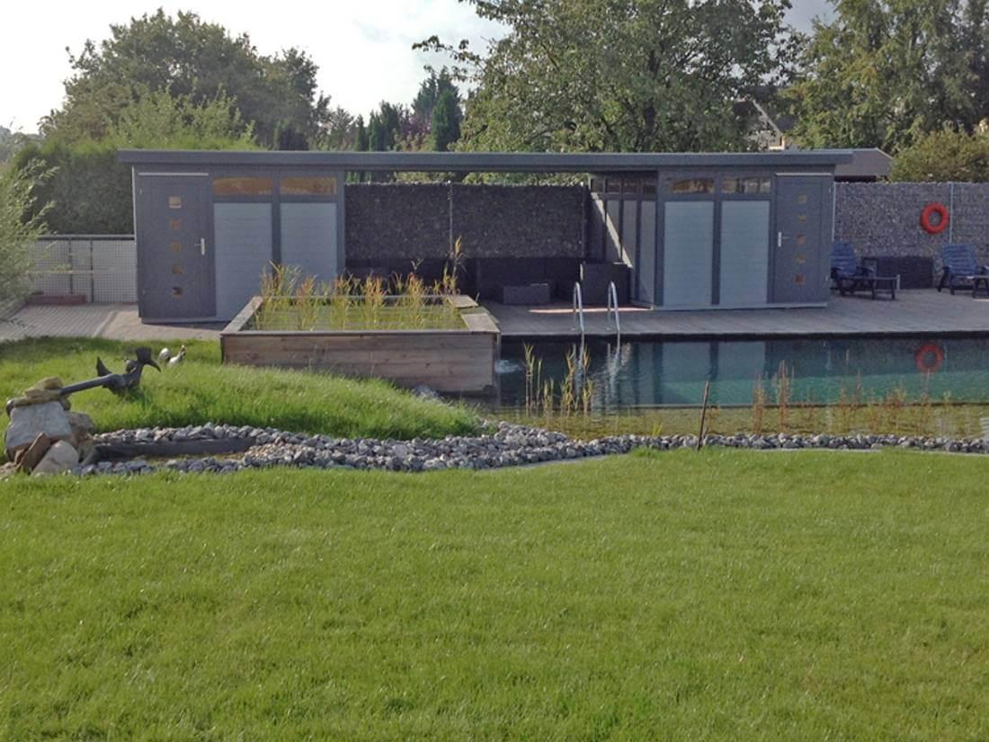 gartenhaus modern style | galabau mähler | gartenhaus